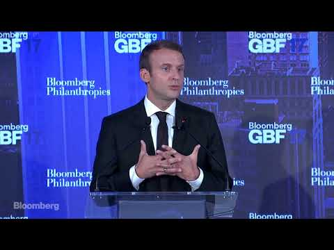 Emmanuel Macron on the New French Economy