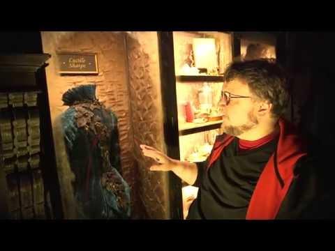 Crimson Peak Gothic Gallery Tour with Guillermo del Toro (SDCC 2014) [HD]