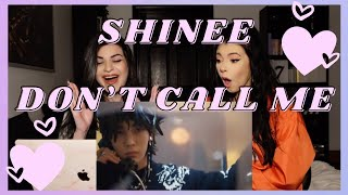 SHINEE - DON'T CALL ME M/V | REACTION