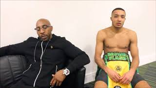 ZELFA BARRETT: BACKSTAGE REACTIONS AFTER ENGLISH TITLE WIN