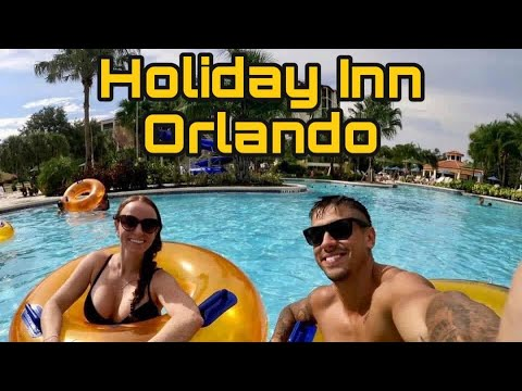 HUGE Orlando Florida Resort 🌴☀️ Holiday Inn 🏨