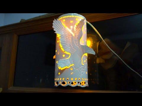 Lampu Hias dari Paralon