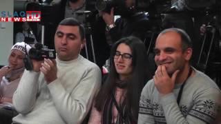 Slaq am Ուկրաիանական X ֆակտոր նախագծի հաղթող Սևակ Խանաղյանը Հայաստանում է