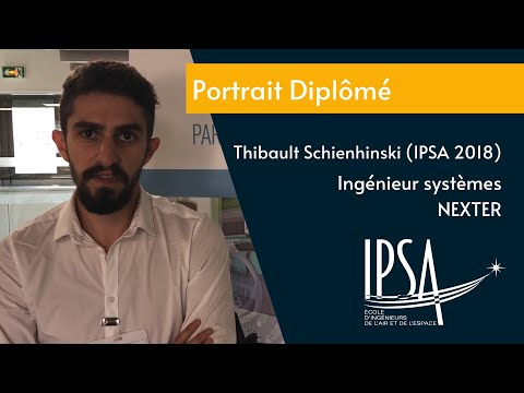 Portrait diplômé - Thilbault Schienhinski (IPSA promo 2018) - Ingénieur systèmes - NEXTER