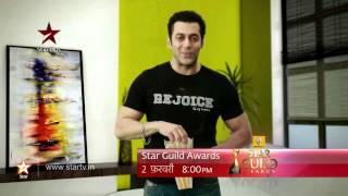 STAR Guild Awards Promo Salman Khan