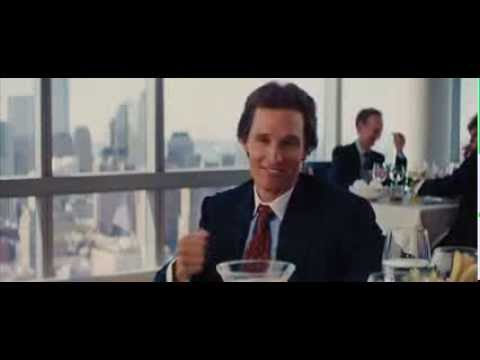 The Wolf of Wall Street Full Restaurant Scene