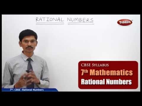 Rational Numbers | Class 7th Mathematics | NCERT | CBSE Syllabus | Live Videos