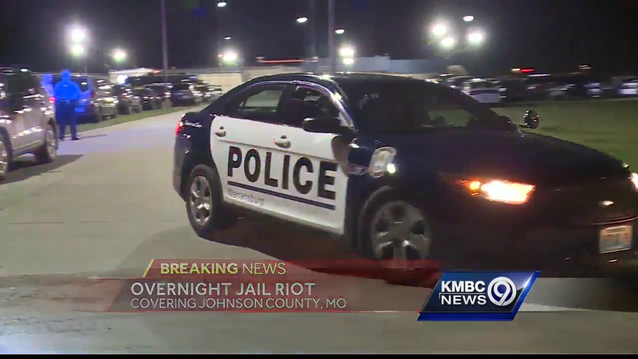 Authorities quell riot at Johnson County, Mo  jail