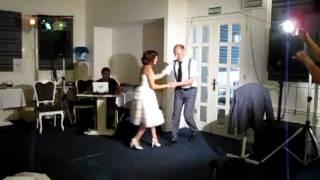 Свадебный танец в стиле стиляг