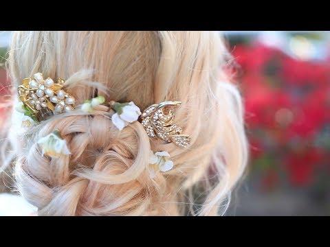 prom dolce & gabbana hair diy