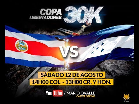 COSTA RICA VS HONDURAS OCTAVOS DE FINAL COPA 30K AGE OF EMPIRES 2