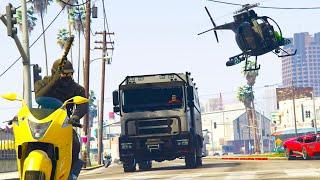 Defending Noobs Cargo From Tryhards GTA 5 Online