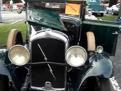 1931 MARMON  ROADSTER --  PIONEER OF INNOVATION