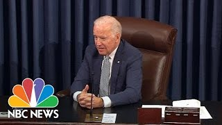 Senators Unite To Give Joe Biden A Moving Farewell | NBC News
