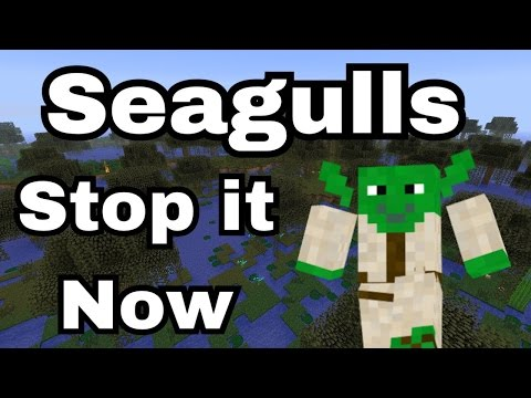 SEAGULLS (Stop It Now) Bad Lip Reading Minecraft Remake!