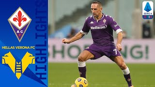 First half strikes from miguel veloso and dušan vlahović saw the points shared in a draw between fiorentina hellas verona | serie timthis is offici...