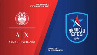 #EuroLeague 10. Hafta: AX Armani Exchange Milan - Anadolu Efes