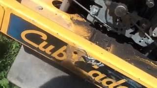 hoard has new toy 2007 cub cadet rzt 50 zero turn mower