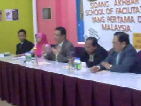 Press Conference - School Of Facilitators launching on 22/04/2014