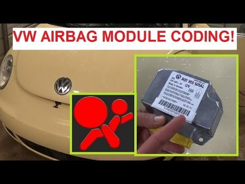 Vw Airbag Module Coding Volkswagen, Audi, Seat, Skoda