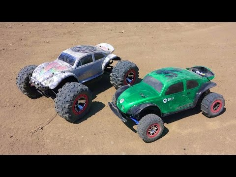 rc-adventures---traxxas-summit,-traxxas-slash,-buggies,-4x4-electric-vs-nitro!