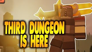 NEW THIRD DUNGEON IS HERE! Dungeon Quest Pirate Island Dungeon! | Roblox