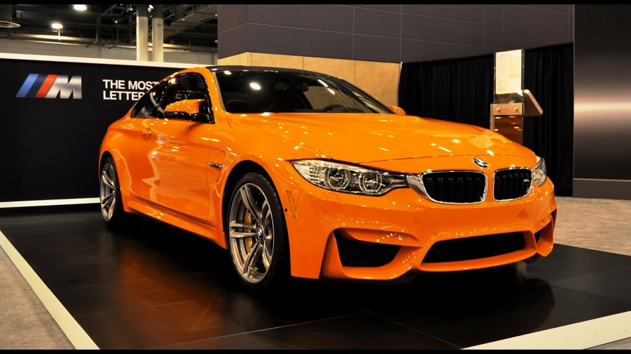 Bmw M4 F82 In Fire Orange Color Walkaround Review