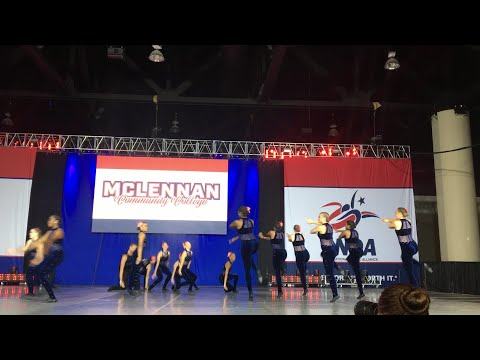 McLennan Community College's Dance Company Jazz Division Three routine