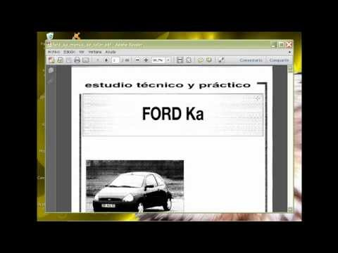 descarga manual de reparacion y despiece de ford ka fiesta 1 6 rh youtube com manual del ford ka manual del ford ka 2007