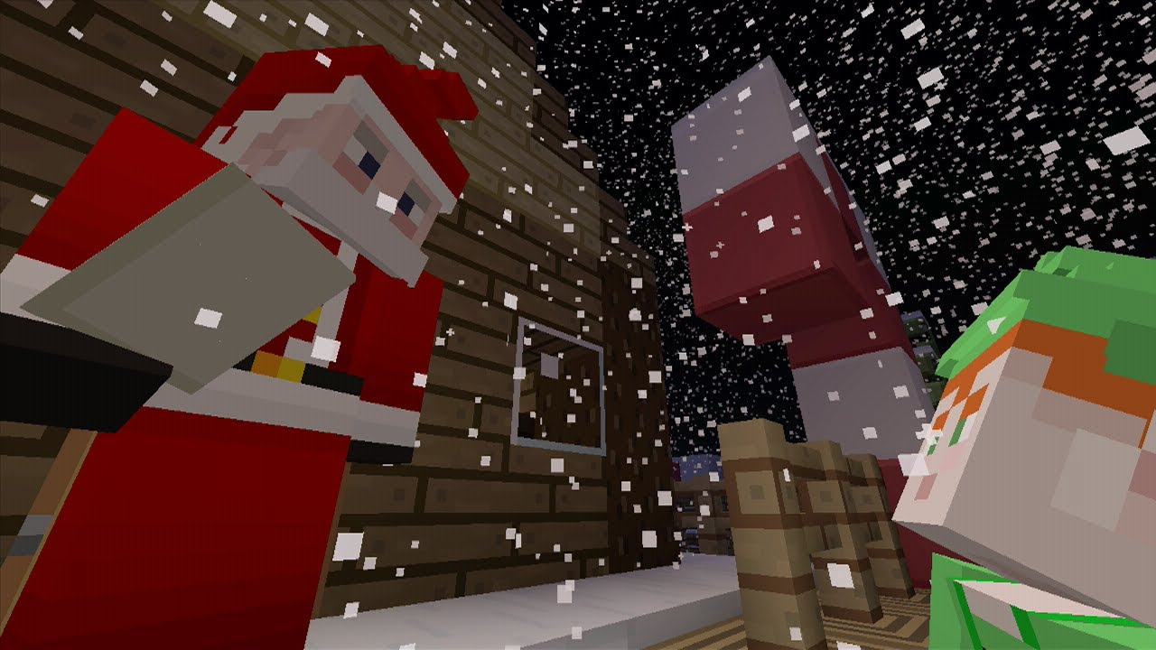 Minecraft Xbox - A Christmas Adventure Map - Santa's Helper - YouTube