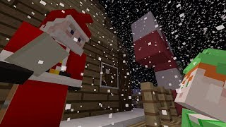 Minecraft Xbox - A Christmas Adventure Map - Santa
