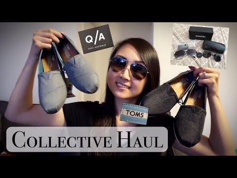 Collective Haul ft. Toms, Quay Australia, Chanel | Aimee Jo