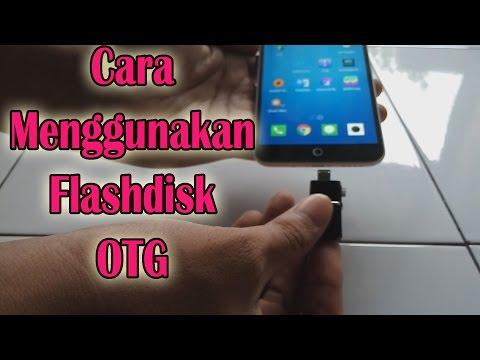 Flashdisk OTG - cara menggunakan flashdisk OTG smartphone