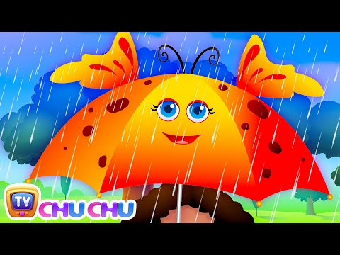 Thumbnail: Rain, Rain, Go Away Nursery Rhyme With Lyrics - Cartoon Animation Rhymes & Songs for Children