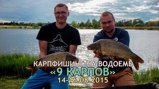 9 карпов рыбалка волоколамск видео