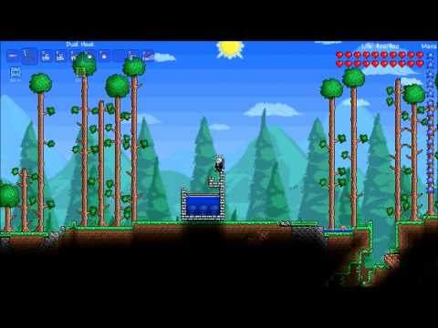 Terraria How To: Slime Gel Farm (Bird Powered)