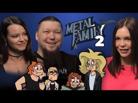 Metal Family. Второе интервью с Алиной Ковалёвой и Дмитрием ака Фёдором Кузмичом