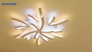 modern led ceiling lights Remote control