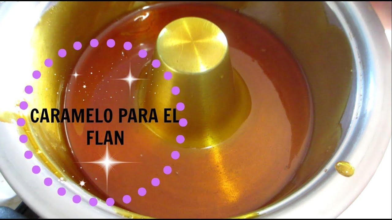 De Flan Caramelo Receta