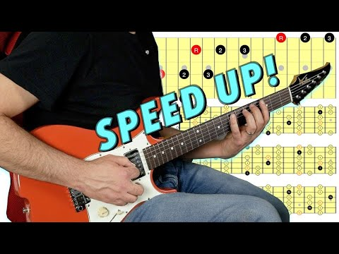 Navigating The Guitar Fretboard Fast Using Octaves