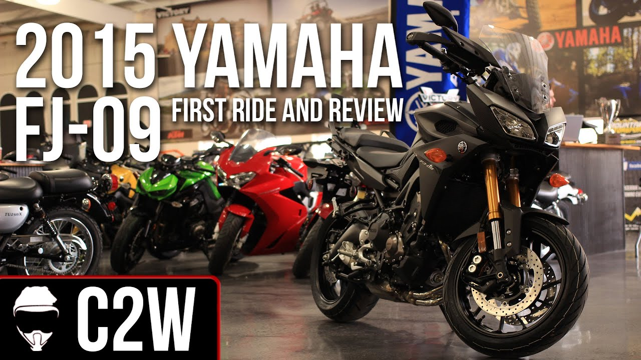 2015 Yamaha Fj 09 First Ride And Review Mt 09 Tracer