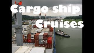cargo container ship cruises