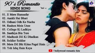 90's Romantic Bollywood Songs | Udit Narayan | Alka Yagnik | Bollywood Romantic Hits |Audio Jukebox Thumb