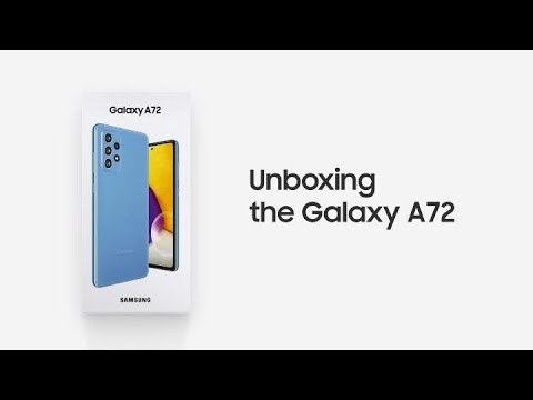 Galaxy A72: Official Unboxing   Samsung