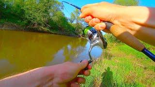ЩУКА глотает мои воблеры На что ловить ГОЛАВЛЯ в начале лета Рыбалка на спиннинг на малой реке
