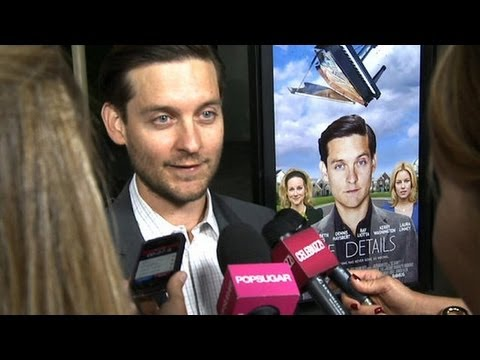 Tobey Maguire Interview at The Details Premiere