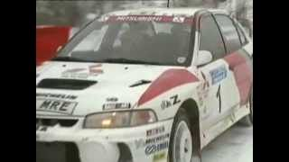 Rally VM 1998 Deltävling 2 Svenska rallyt första etappen