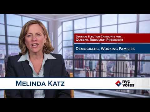 Melinda Katz: Candidate for Queens Borough President