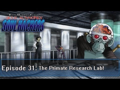 Soul Hackers Playthrough Ep 31: Primate Research Lab -Riddle Time-