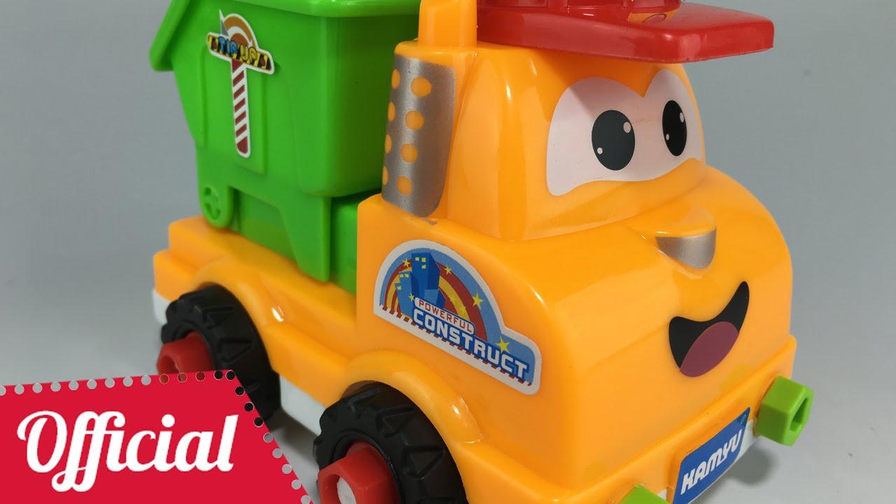 dump truck toy videos truck assembly children toys trucks for kids children youtube. Black Bedroom Furniture Sets. Home Design Ideas